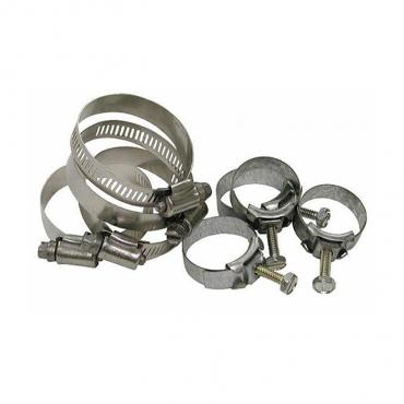 Corvette Hose Clamp Kit, LT-1 with Air Conditioning, 1970-1972