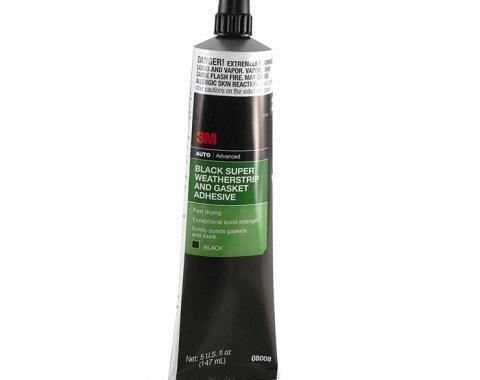 3M Weatherstrip Adhesive, Black