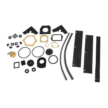 Corvette Engine Compartment Seal Kit, 2X4, 1958-1961