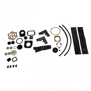 Corvette Engine Compartment Seal Kit, Fuel Injection, 1958-1962