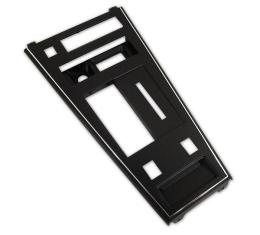 Corvette Shifter Console Trim Plate, With Power Windows & Rear Defroster, 1977-1980 Early