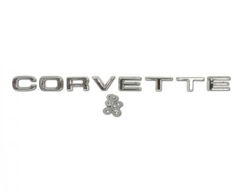 "Corvette Rear Bumper ""Corvette"" Letters, 1974-1975"