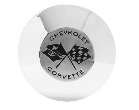 Trim Parts 56-57 and 59-62 Corvette Black Horn Button, Each 5067