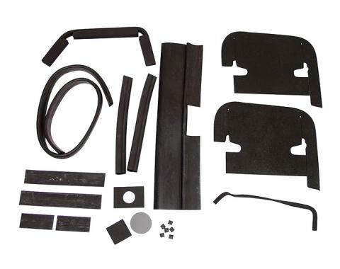 Corvette Engine Compartment Seal Kit, 327 With Air Conditioning, 1967