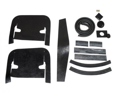 Corvette Engine Compartment Seal Kit, 1963