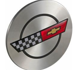 Corvette Wheel Center Cap, 1986, 1988-1989, 1990