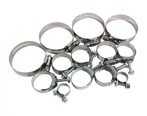 Corvette Hose Clamp Kit, 454, 1971-1973