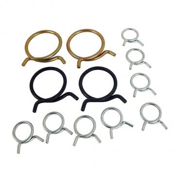 Corvette Hose Clamp Kit, All V-8, 1956-1957