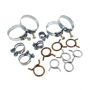 Corvette Hose Clamp Kit, 283 & 327, 1961-1962