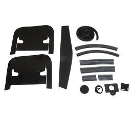 Corvette Engine Compartment Seal Kit, With Air Conditioning, 1964-1965