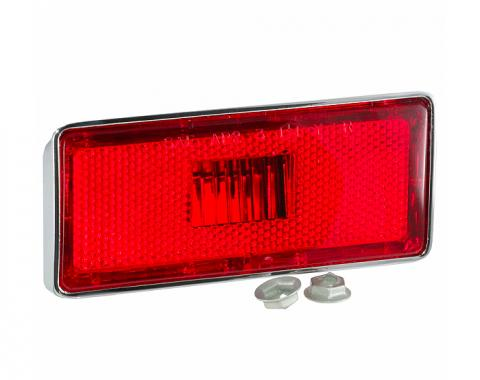 Trim Parts 70-74 Early Corvette Right Hand Rear Marker Light Assembly, Each 5345