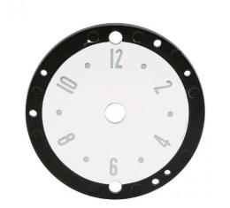 Trim Parts 53-57 Corvette Clock Face, Each 5130