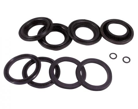 Corvette Front Brake Caliper Lip Seal Rebuild Kit, 1965-1982