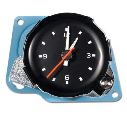 Corvette Reproduction Quartz Movement Clock, New Factory, 1980-1981