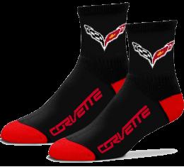 Corvette Quarter Socks