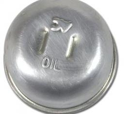 Corvette Oil Cap, Unvented with Solid Lifters, (61 Late & 62 Early), 1961-1962